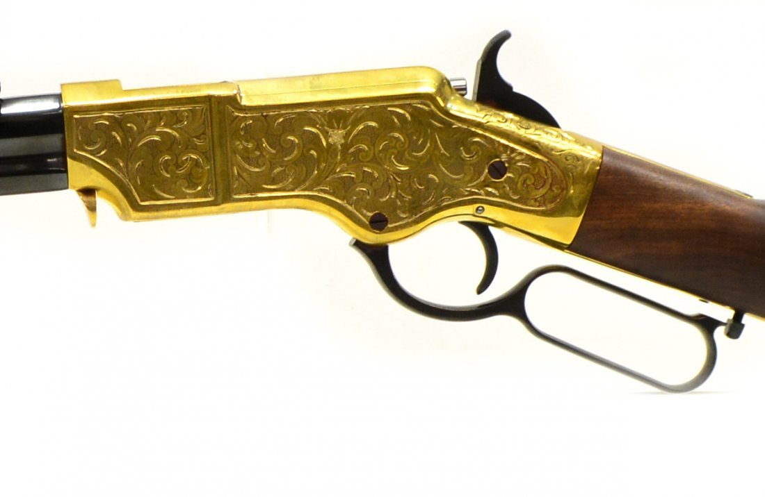 HENRY H011D ORIGINAL DELUXE ENGRAVED 44-40 RIFLE