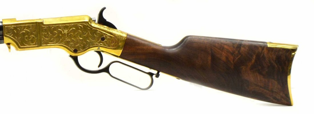 HENRY H011D ORIGINAL DELUXE ENGRAVED 44-40 RIFLE - 3