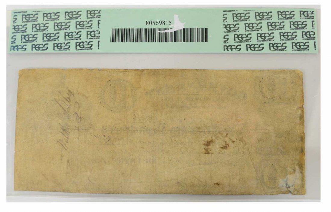 REPUBLIC OF TEXAS $10 SAM HOUSTON NOTE - 3