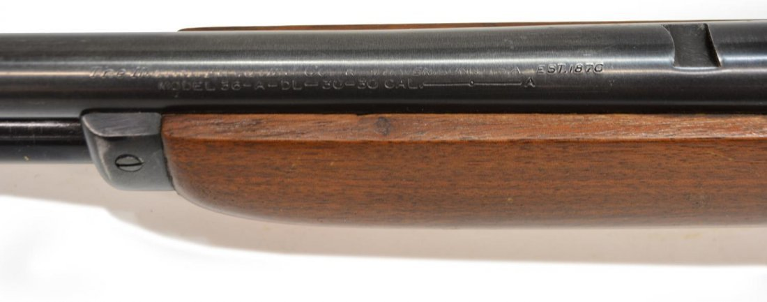 MARLIN MODEL 36 LEVER ACTION RIFLE, .30-30, SCOPE - 10