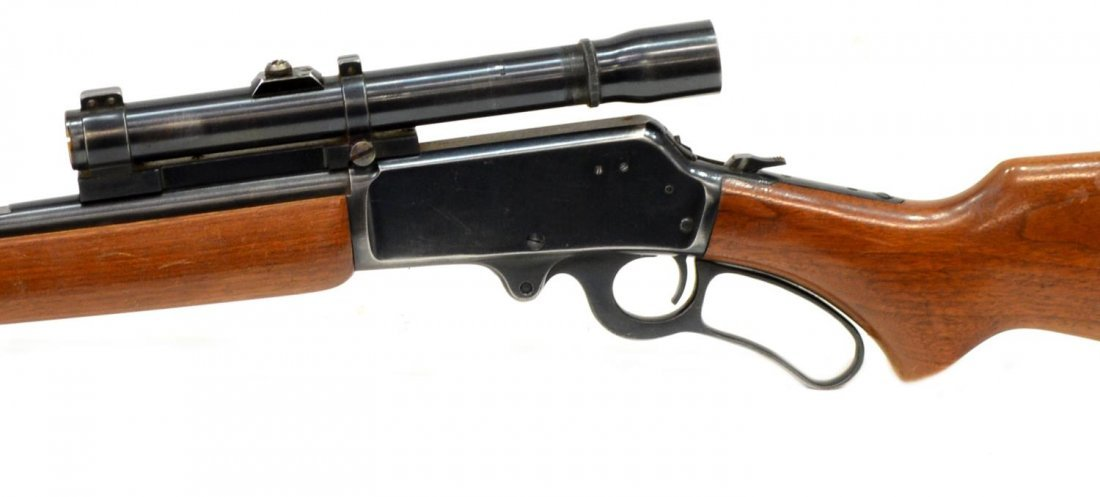 MARLIN MODEL 36 LEVER ACTION RIFLE, .30-30, SCOPE