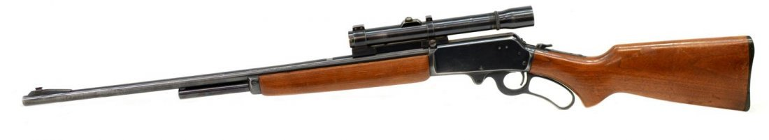 MARLIN MODEL 36 LEVER ACTION RIFLE, .30-30, SCOPE - 2