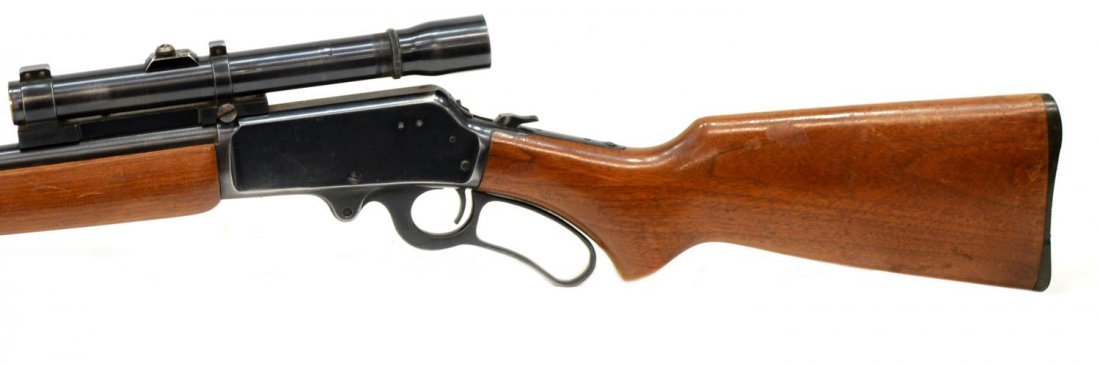 MARLIN MODEL 36 LEVER ACTION RIFLE, .30-30, SCOPE - 4