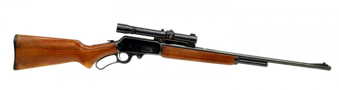 MARLIN MODEL 36 LEVER ACTION RIFLE, .30-30, SCOPE - 5