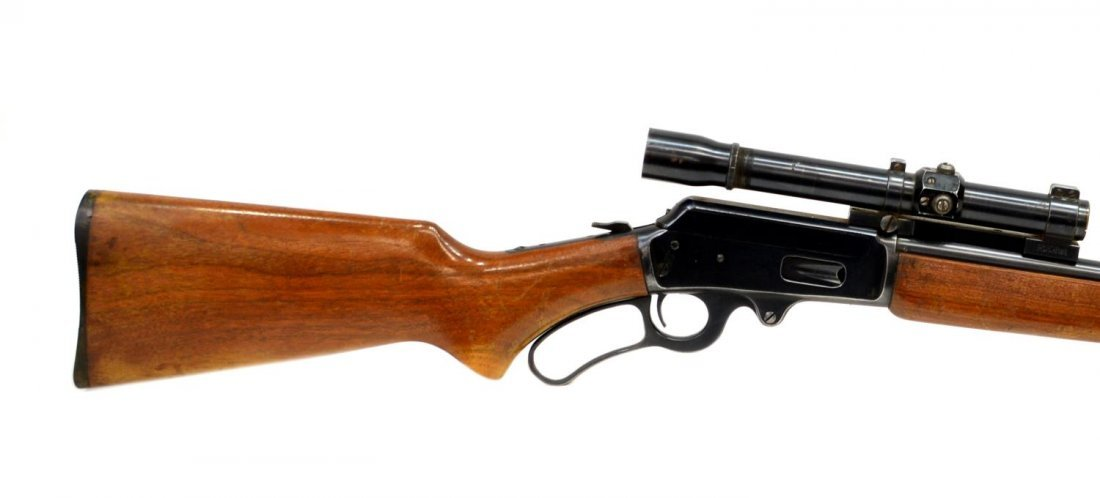 MARLIN MODEL 36 LEVER ACTION RIFLE, .30-30, SCOPE - 7