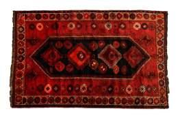 PERSIAN SHIRAZ HAND TIED WOOL RUG 79l x 52w