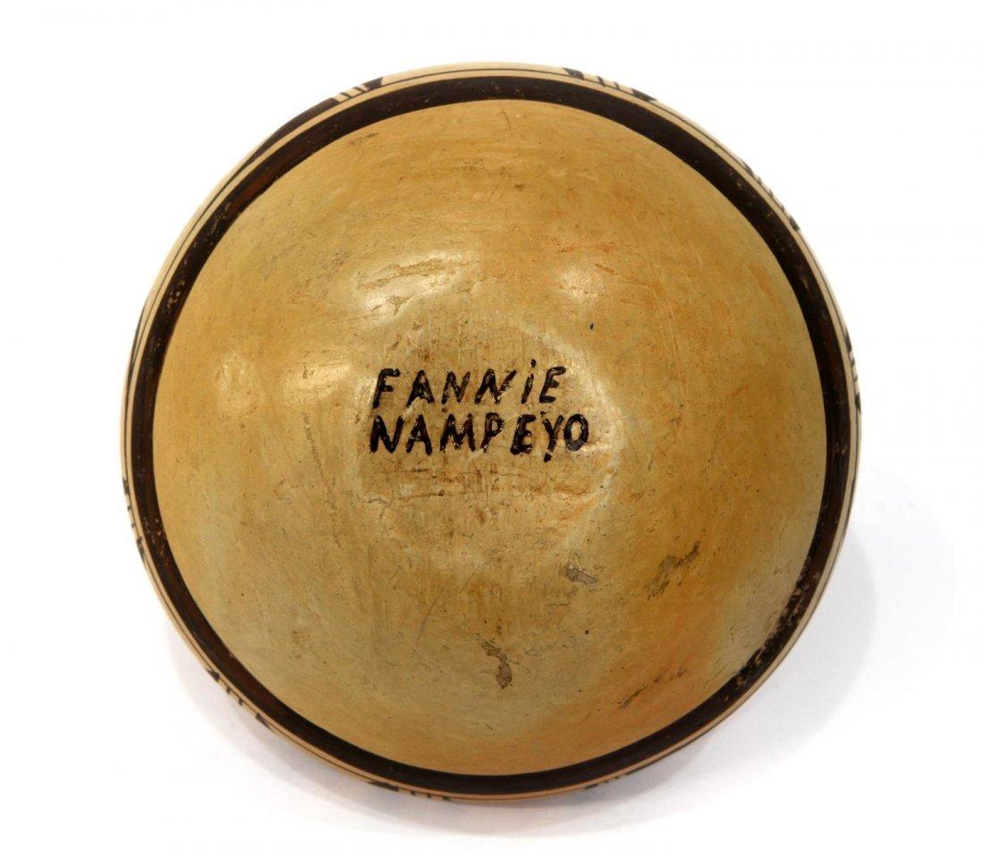 HOPI INDIAN JAR SIGNED FANNIE NAMPEYO - 3