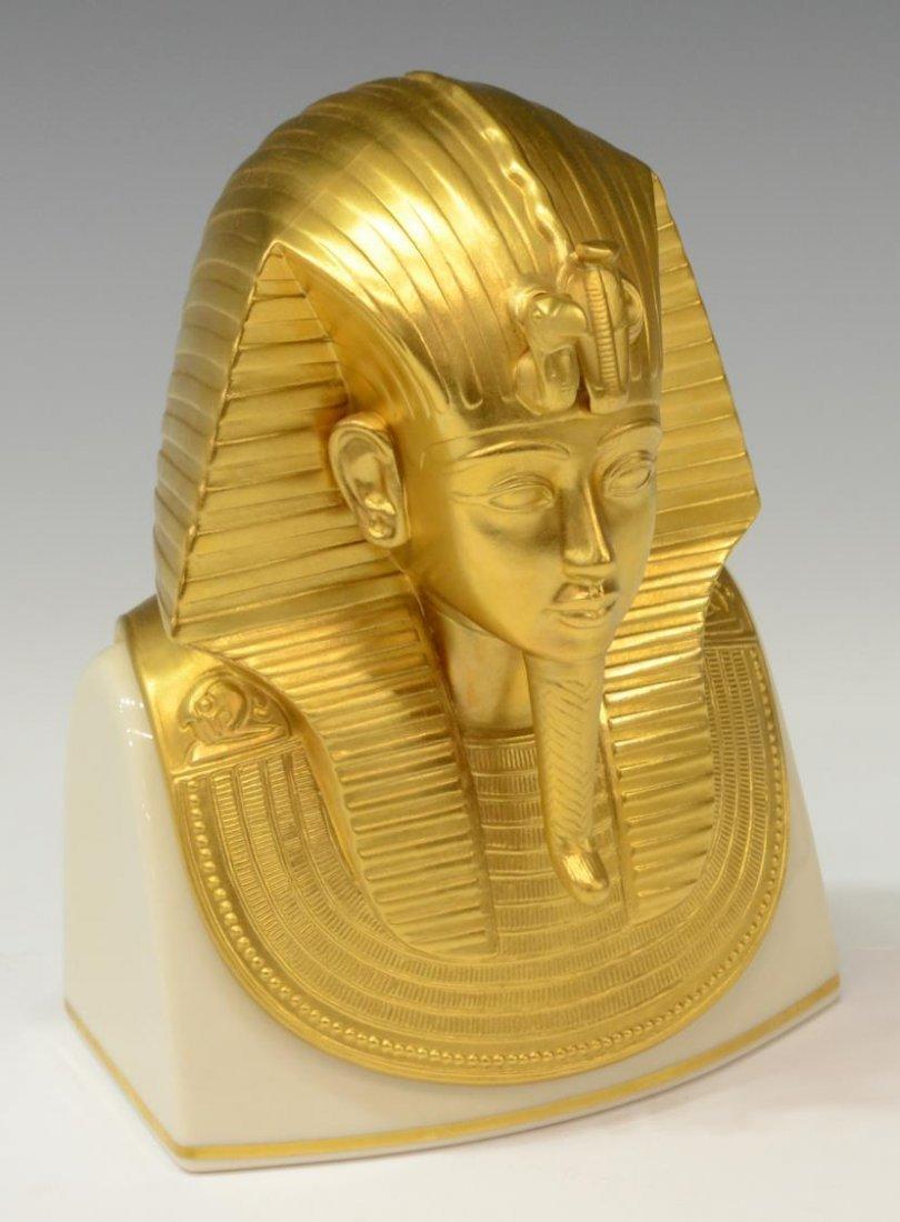 (6)EGYPTIAN KING TUT FIGURES, LENOX, FRANKLIN MINT - 2