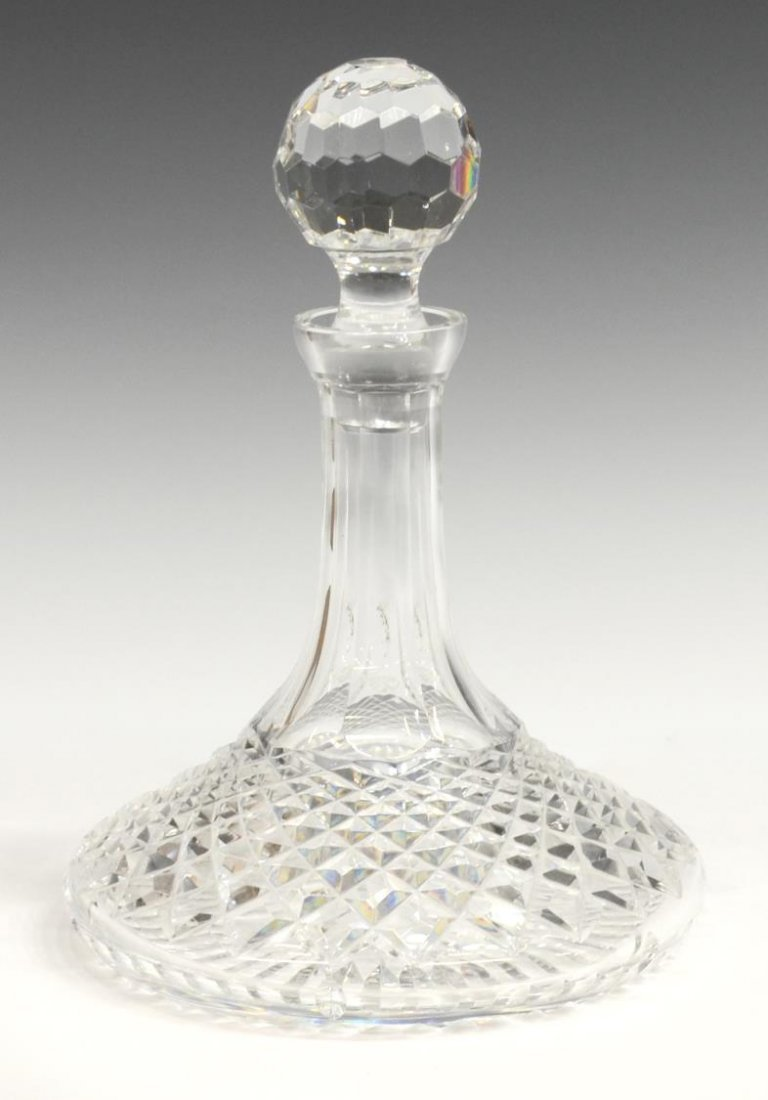 (2) WATERFORD CRYSTAL LISMORE & ALANA DECANTERS - 2