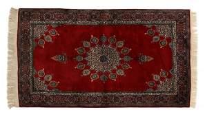 PERSIAN TABRIZ HAND WOVEN RUG 72 x 46