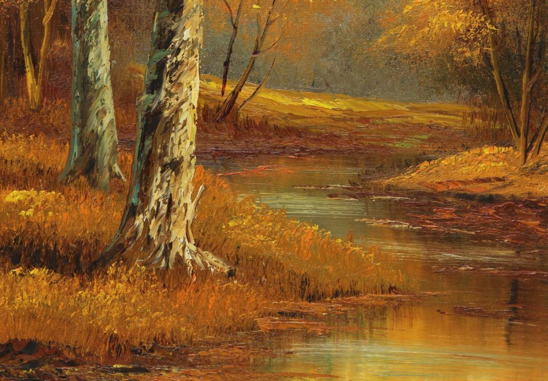 (2) PHILLIP CANTRELL (b. 1922), LANDSCAPE PAINTING - 4