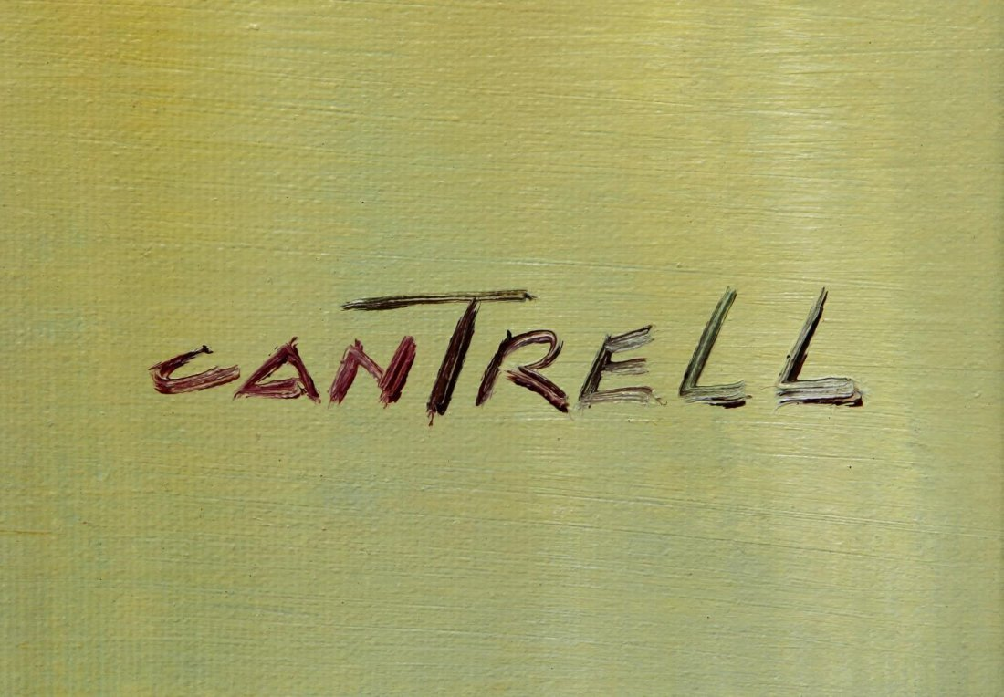 (2) PHILLIP CANTRELL (b. 1922), LANDSCAPE PAINTING - 5
