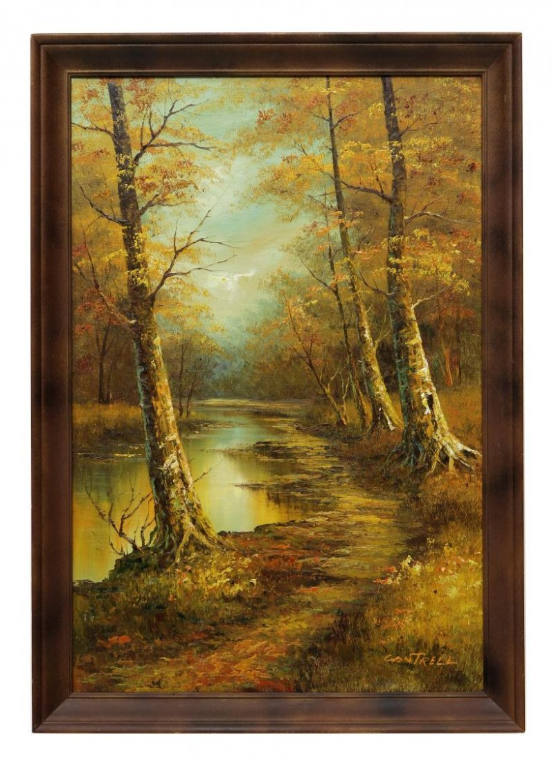 (2) PHILLIP CANTRELL (b. 1922), LANDSCAPE PAINTING - 7