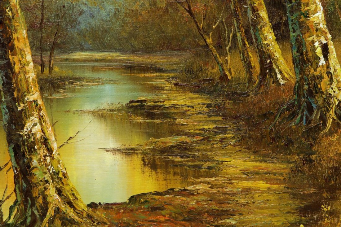 (2) PHILLIP CANTRELL (b. 1922), LANDSCAPE PAINTING - 8