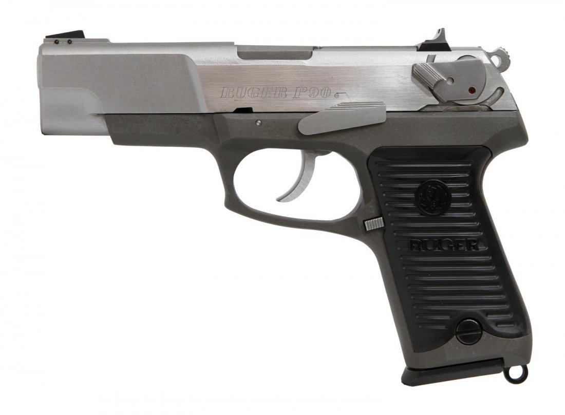 RUGER P90 STAINLESS .45ACP PISTOL
