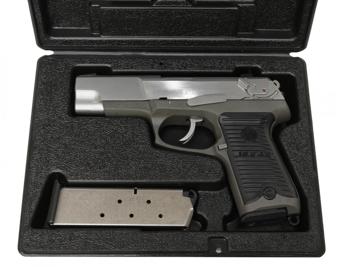 RUGER P90 STAINLESS .45ACP PISTOL - 2
