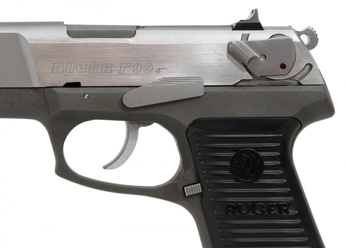 RUGER P90 STAINLESS .45ACP PISTOL - 3