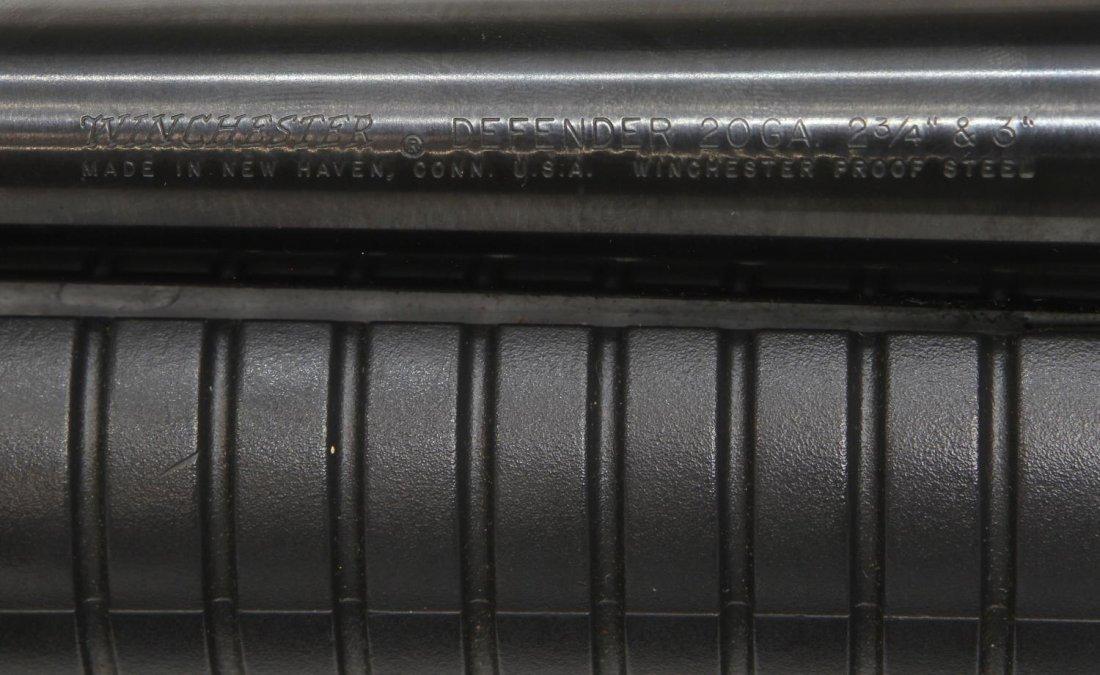 WINCHESTER DEFENDER PUMP SHOTGUN, 20 GAUGE - 5