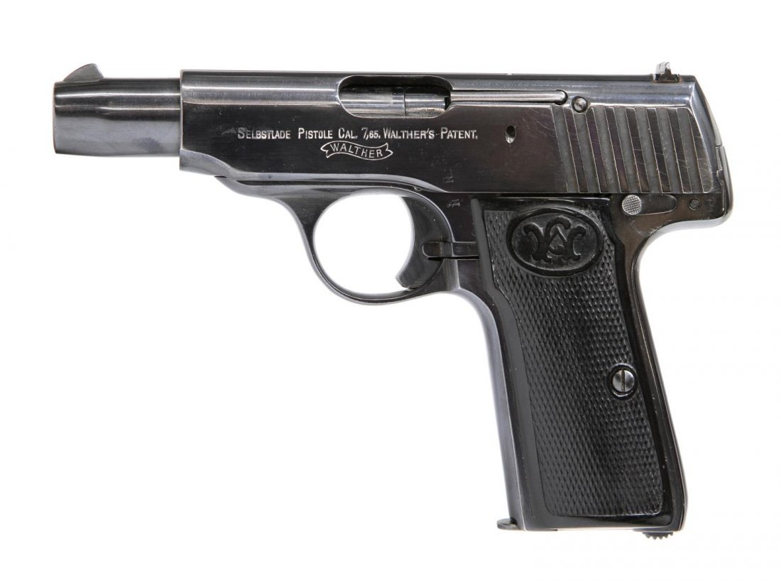 WALTHER 7.65 CALIBER MODEL 4 PISTOL