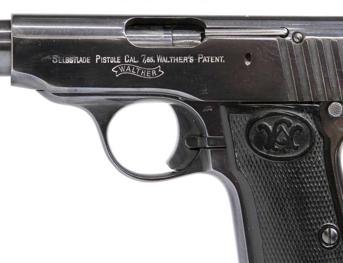 WALTHER 7.65 CALIBER MODEL 4 PISTOL - 2