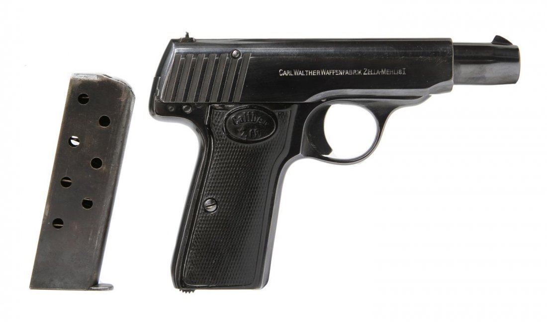 WALTHER 7.65 CALIBER MODEL 4 PISTOL - 3