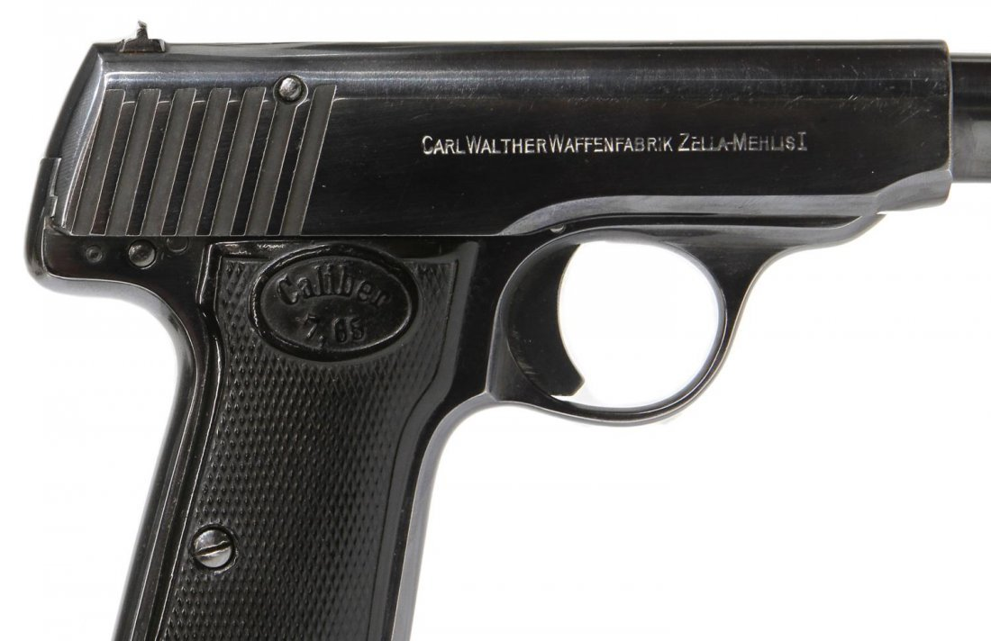 WALTHER 7.65 CALIBER MODEL 4 PISTOL - 4