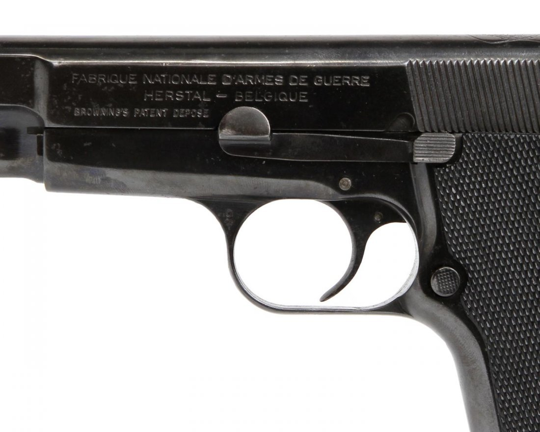 FN BROWNING HI-POWER PISTOL, ARGENTINE POLICE - 2