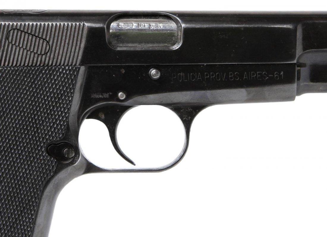 FN BROWNING HI-POWER PISTOL, ARGENTINE POLICE - 4
