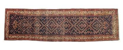PERSIAN HAMADAN HAND TIED WOOL RUNNER118 x 35