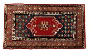 TURKISH KONYA HAND TIED WOOL RUG 61 x 34