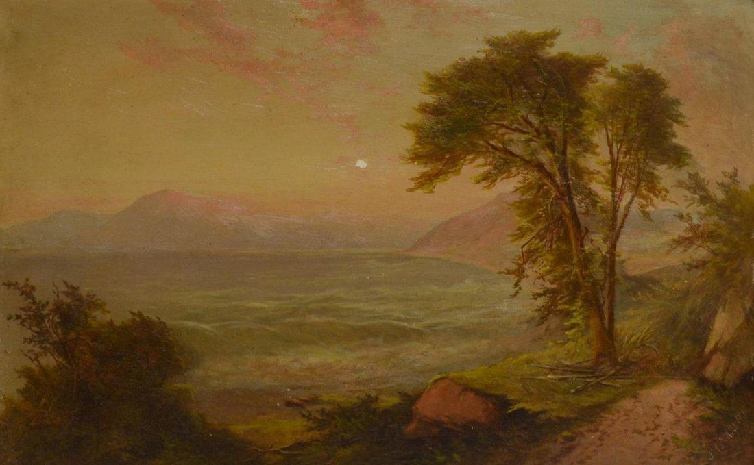 J. TALBOT, NEW YORK, 19TH C. LANDSCAPE PAINTING