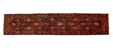 PERSIAN HAMADAN HAND TIED WOOL RUNNER168 x 37