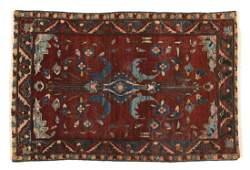 PERSIAN HAMADAN HAND TIED WOOL RUG 5 x 35