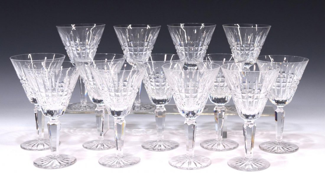 (17) WATERFORD GLENMORE GOBLETS & ASHLING TUMBLERS - 2