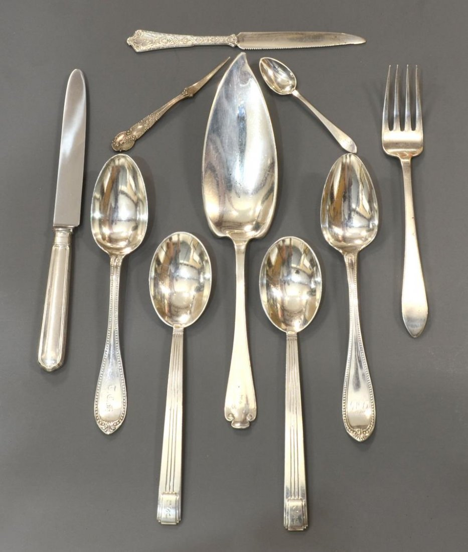 (10) TIFFANY & COMPANY STERLING SILVER GROUPING