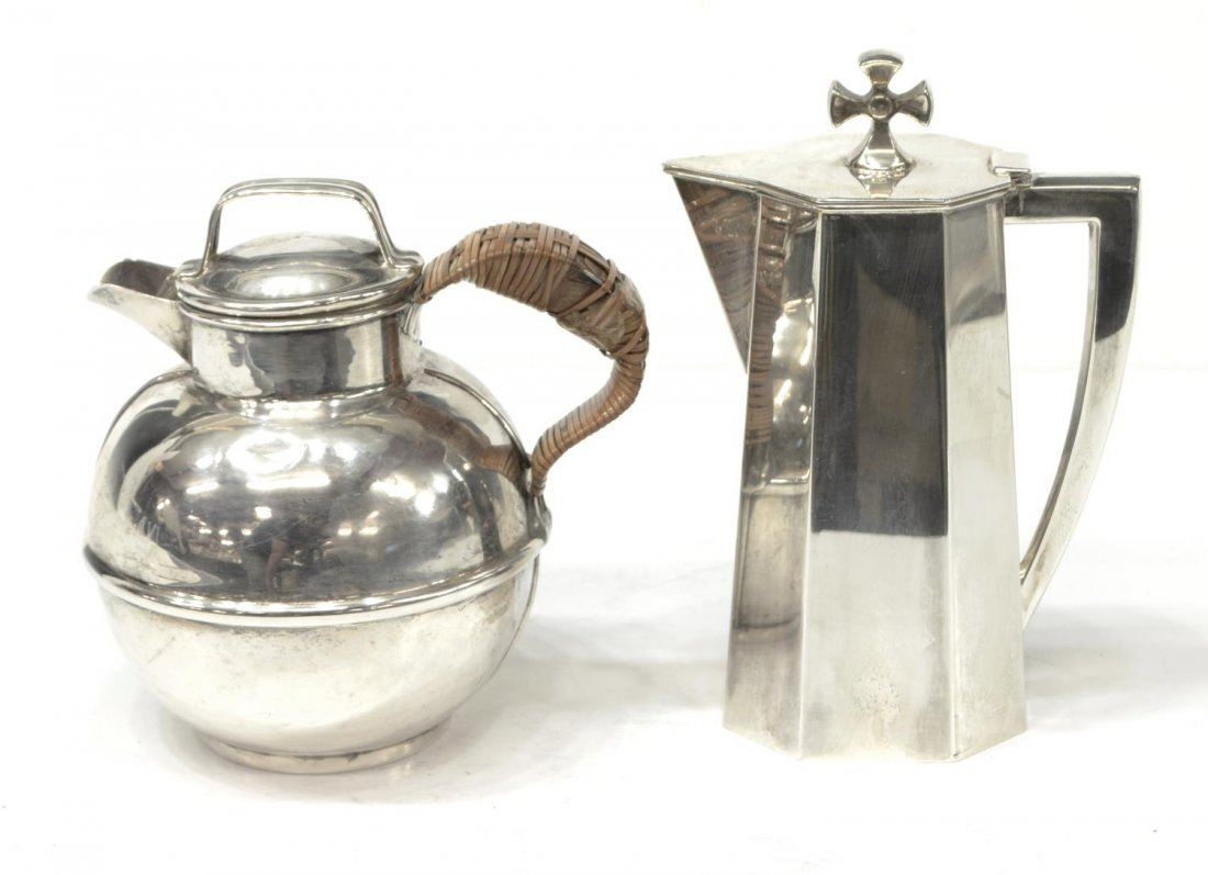 (2) AMERICAN STERLING PITCHERS, CARTIER & GLASIER