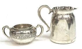 (2) AMERICAN STERLING SILVER HOLLOWWARE GROUP