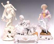 (3) COLLECTION OF ASSORTED PORCELAIN FIGURES