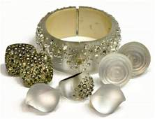 ALEXIS BITTAR LUCITE & CRYSTAL JEWELRY GROUP