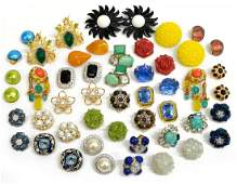 LADIES CRYSTAL & GEMSTONE EARRING COLLECTION