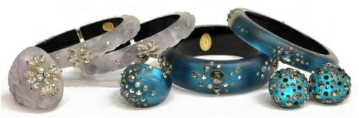 ALEXIS BITTAR LUCITE & CYRSTAL JEWELRY GROUP