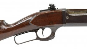 Early Savage 1899b 25-35 Cal Lever Octagonal Rifle