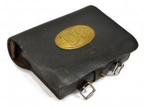 Civil War Reenactor's Union Cartridge Box