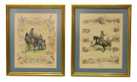 Charles Aubry (1803-1883) C. 1834 Military Prints
