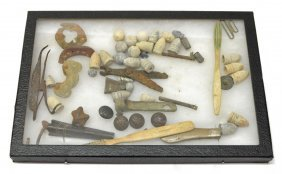 Collection Of U.s. Civil War Dug Items, Bullets