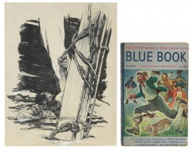 (leland Gustavson (1894-1966) Illustration & Book