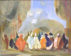Federica Ravizza (italian B. 1947) Masquerade