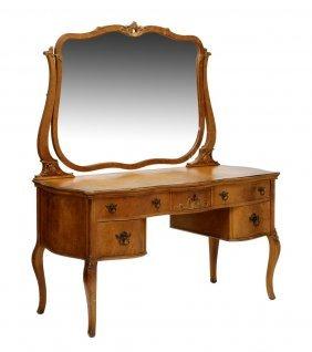 American Bird's Eye Maple Vanity Dresser