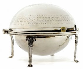 Edwardian Silverplate Lidded Dish Biscuit Warmer