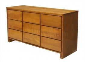 Mid-century Modern Conant Ball Nine Drawer Dresser
